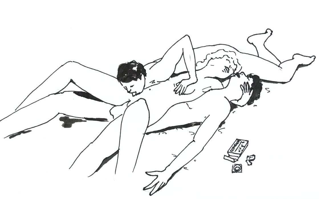 Illustrated threesome positions — photo 11
